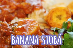 banana stobá gestoofde bakbanaan antilliaanse stoofschotel recept