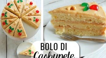 Antilliaanse bolo di cashupete, cashewnotentaart