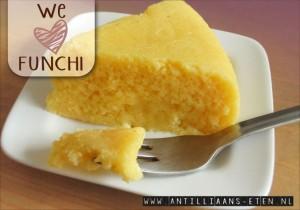 funchi polenta maïsmeel antilliaans recept