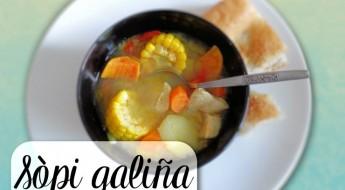 Antilliaanse sopi di galiña galinja kippensoep recept antilliaans eten Jurino