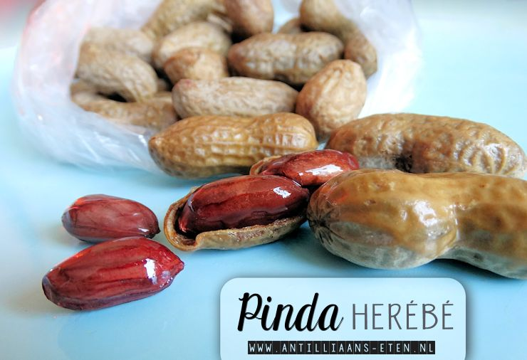 pinda herebe antilliaans recept gekookte zoute pinda's