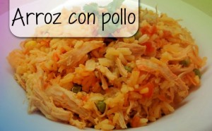 Arroz con pollo - Rijst met kip voor'elke dag'