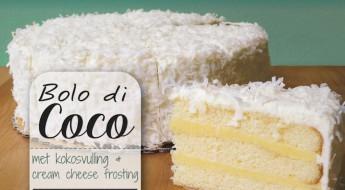bolo di coco antilliaanse kokostaart recept