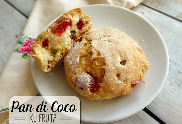 Caribische scones pan di coco ku fruta antilliaans recept