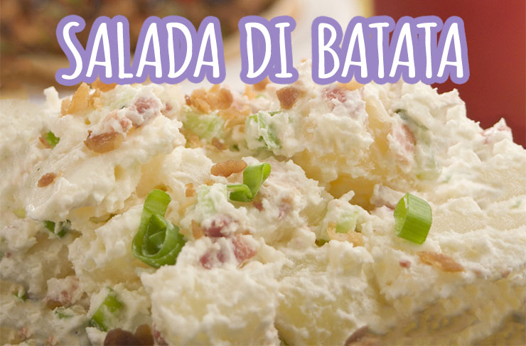 Speciaal Antilliaanse Keuken : Antilliaanse aardappelsalade salada di batata recept uit curaçao