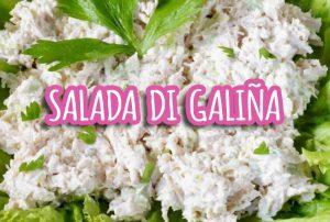 salada di galiña galina galinja antilliaanse kipsalade recept soesjes