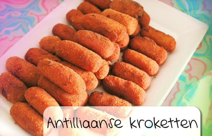 Antilliaanse kroketten kroket gehaktkroket krokechi recept