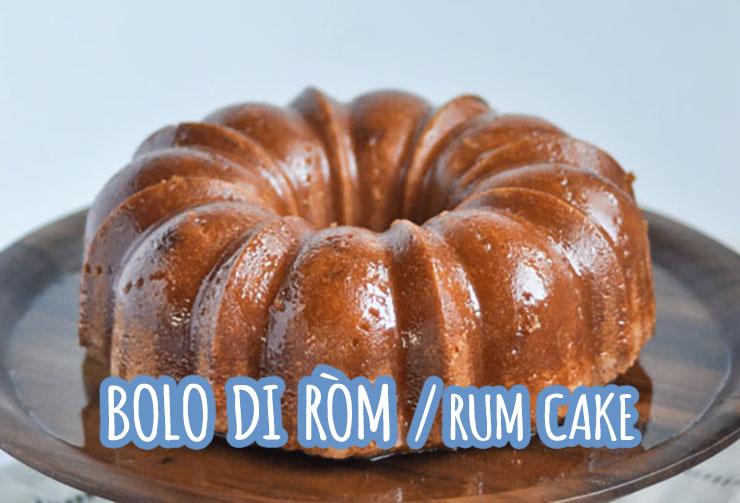 bolo di rom caribische rum cake ron san pablo curaçao
