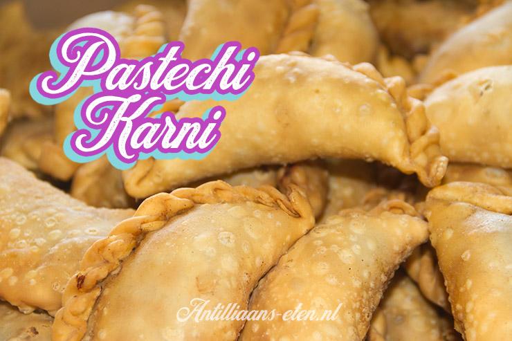Wonderbaar Pastechi karni - Antilliaanse gehaktpasteitjes - Recept incl. video! RF-23