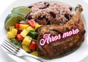 Antilliaanse arros moro arroz morro recept rijst antilliaans