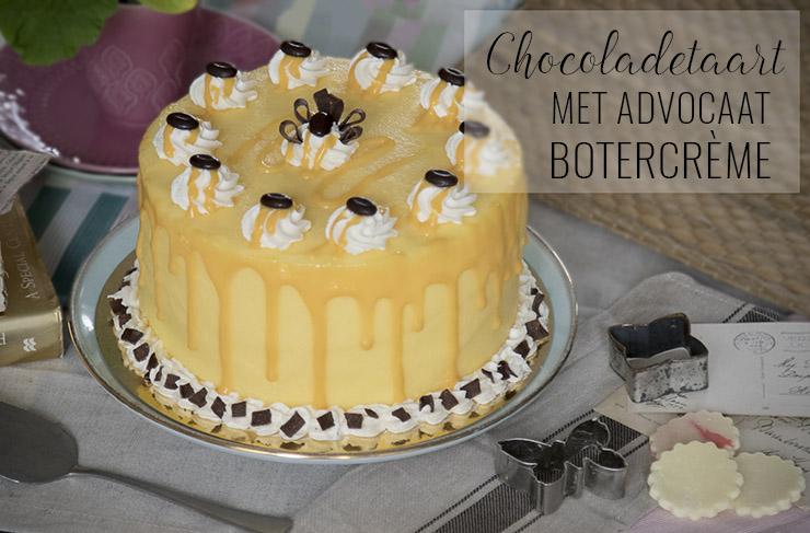 Chocoladetaart met advocaat botercrème recept antilliaans eten jurino