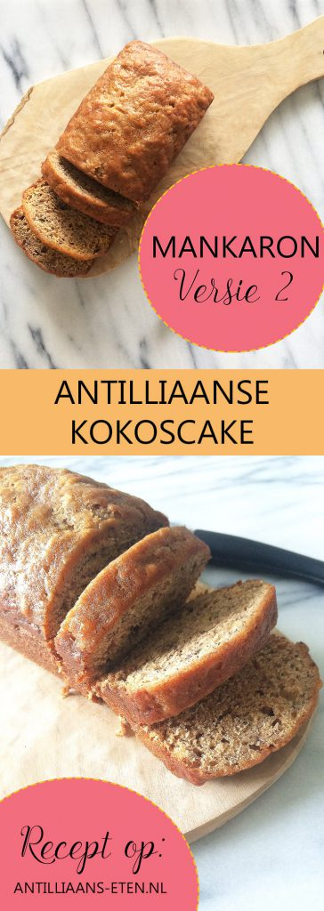 antilliaanse mankaron di coco koko traditionele kokoscake jurino antilliaans eten recept