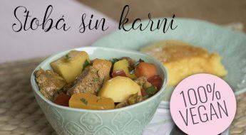 stoba sin karni stoofschotel seitan vegan veganistisch antilliaans recept jurino