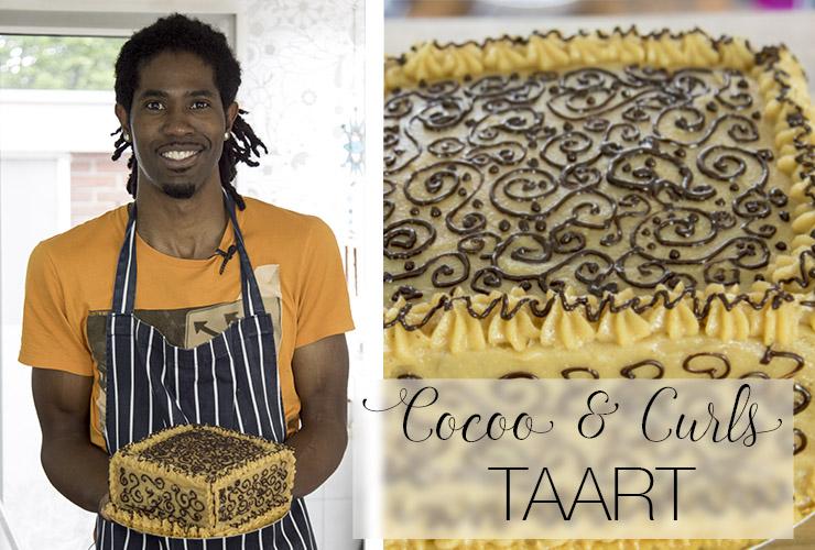 cocooandcurls kokos cashew ganache taart recept antilliaans