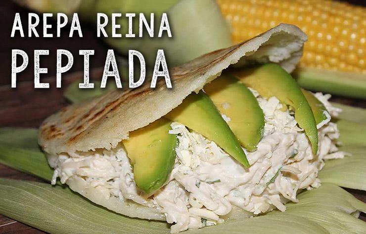 arepa reina pepiada recept antilliaans venezolaans antilliaans-eten.nl recepten jurino
