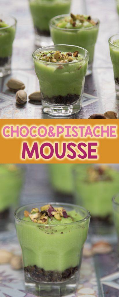 choco pistache mousse antilliaans recept