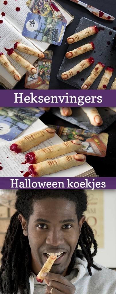 heksenvingers halloween koekjes recept antilliaanse koekjes jurino