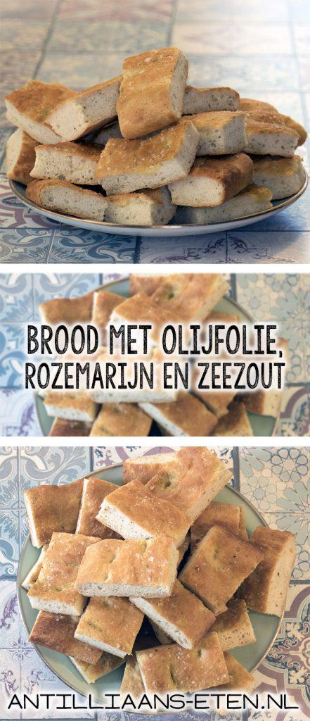 focaccia brood rozemarijn zeezout olijfolie recept