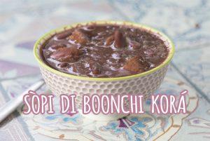 bonchi kora Antilliaanse soep rode kidneybonen sopi di boonchi korá antilliaans eten recept jurino