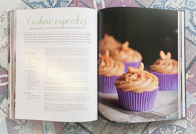 Antilliaanse bolo di cashupete cupcakes cashewnoten cupcakes recept Jurino dushi krioyo antilliaans eten