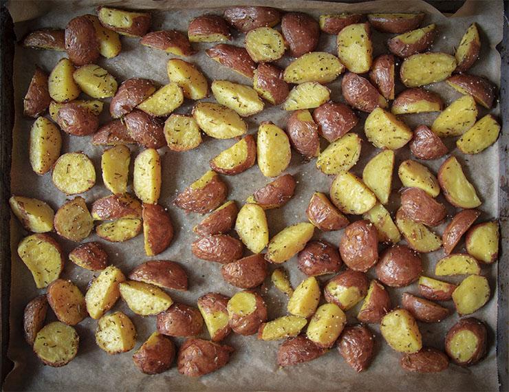 lekkerste geroosterde aardappelen gebakken aardappels recept oven