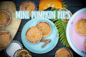 mini pumpkin pie recept amerikaans pompoentaart