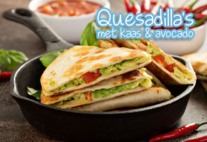 Mexicaanse quesadilla's quesadilla recept avocado kaas antilliaans eten