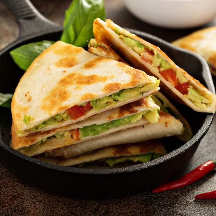 Mexicaanse quesadilla's quesadilla recept avocado kaas antilliaans eten