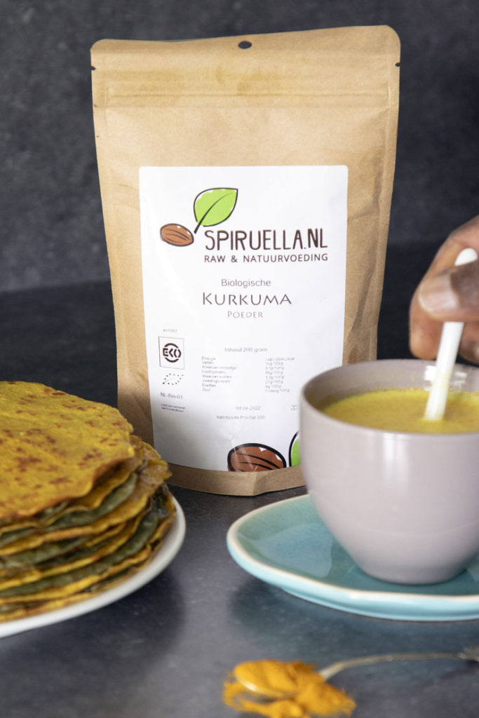 golden milk kurkuma latte recept spiruella koenjit antilliaans eten
