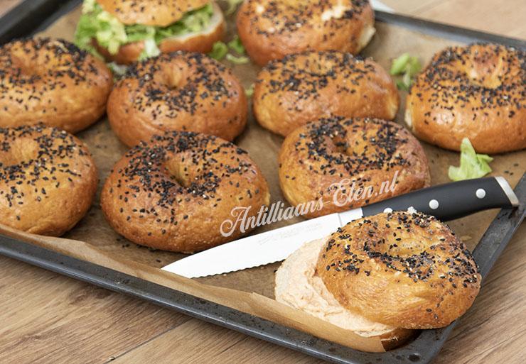 zelf bagels maken zelfgebakken bagels recept