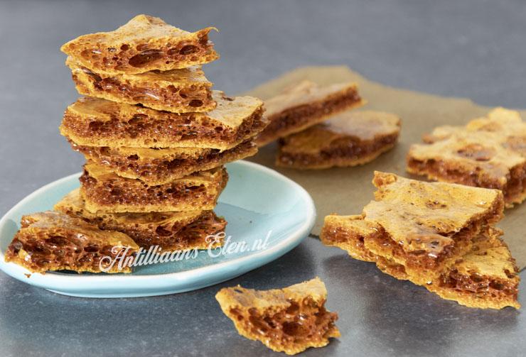 honeycomb maken zelf honeycomb snoepgoed maken recept