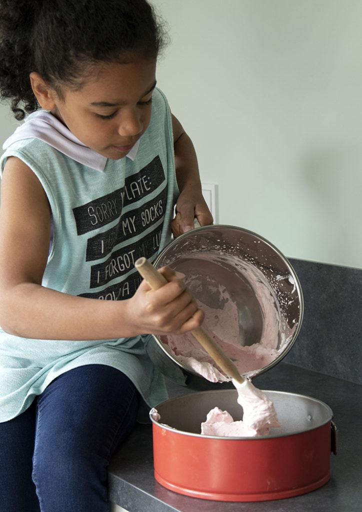 aardbei bavaroisetaart bavaroise taart recept no bake koekjesbodem
